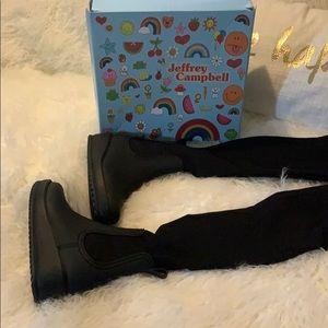 COPY - Jeffrey Campbell high boots size 7
